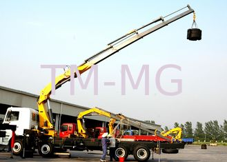 Durable Safety 14 Ton Lifting Articulated Boom Crane , CE Certification