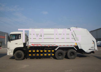 Hydraulic System Special Purpose Vehicles Rear Loader Garbage Truck With Self Dumping