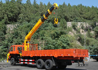 อย่างดี Boom Truck Crane & 12T Telescopic Boom Truck Mounted Crane For Telecommunication Facilities, 30 T.M ลดราคา