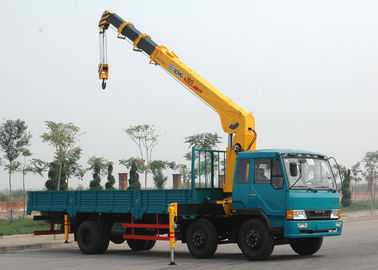 Durable XCMG Hydraulic Commercial Boom Truck Crane With 100 L/min
